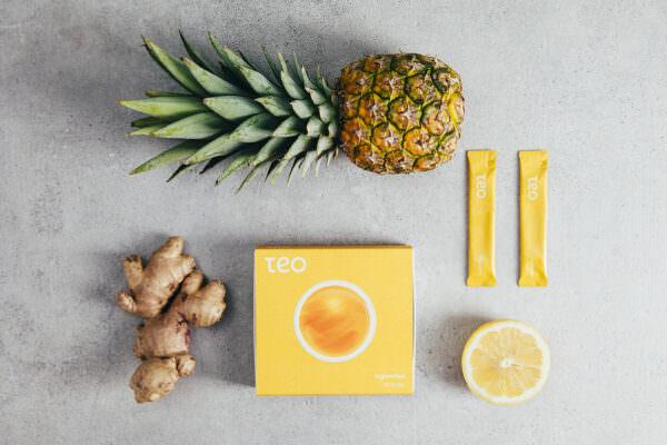 Visual Branding für Teo Teas